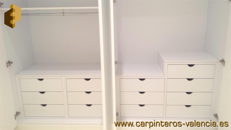 Colecci n de fotos de armarios hechos a medida en valencia - Carpinteros en valencia ...