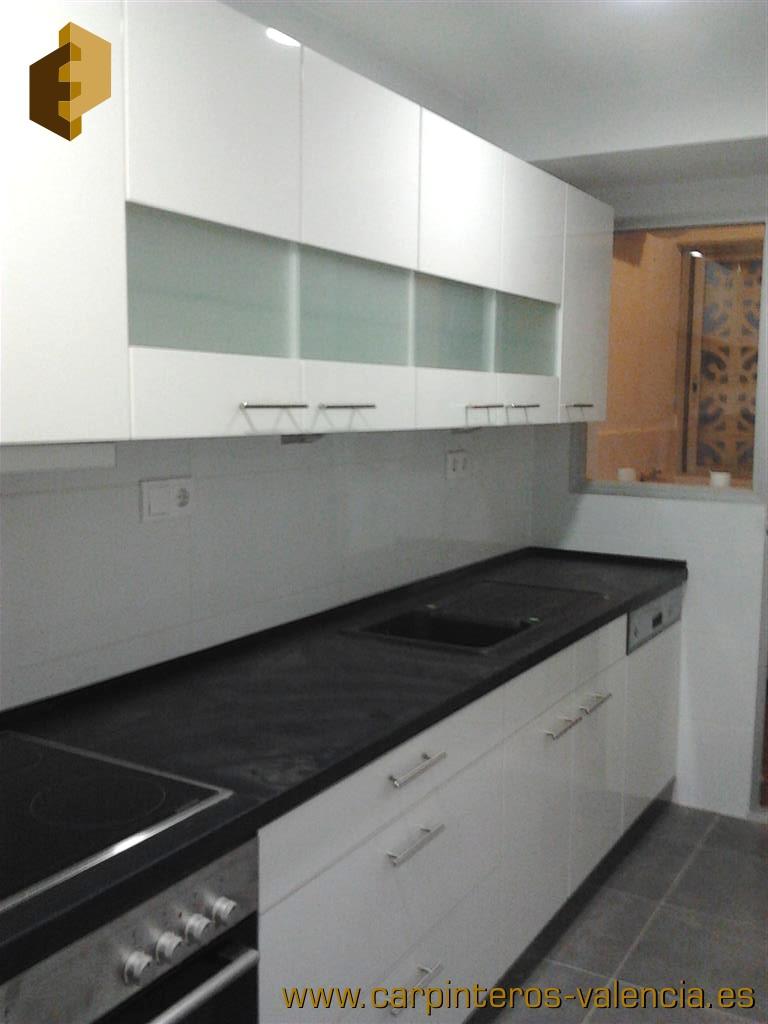 M s fotos de cocinas en valencia realizadas por for Muebles de cocina valencia