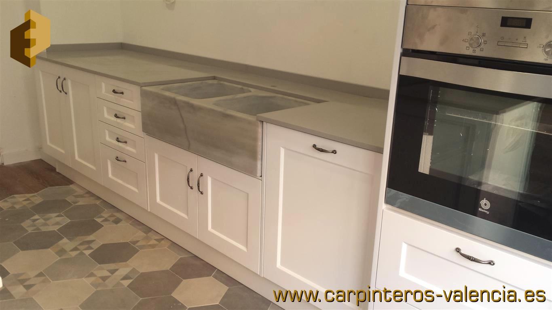 M s fotos de cocinas en valencia realizadas por for Muebles cocina valencia