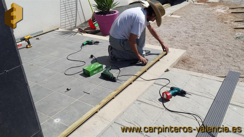 Fotos de tarimas y suelos de madera o derivados instalados en exteriores - Suelo tecnico exterior ...