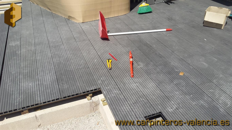 Fotos de tarimas y suelos de madera o derivados instalados - Carpinteros en valencia ...