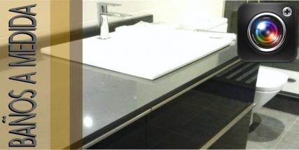 Fotografías de muebles de baño a medida en Valencia
